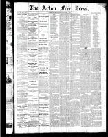 Acton Free Press (Acton, ON), August 11, 1887