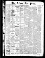 Acton Free Press (Acton, ON), September 22, 1887