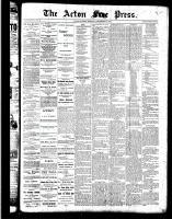 Acton Free Press (Acton, ON), September 29, 1887