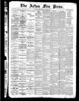 Acton Free Press (Acton, ON), October 6, 1887