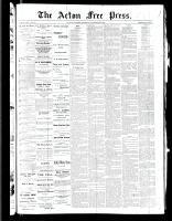 Acton Free Press (Acton, ON), November 24, 1887