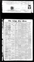 Acton Free Press (Acton, ON), December 1, 1887