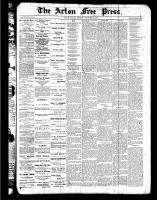 Acton Free Press (Acton, ON), December 15, 1887