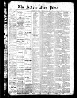 Acton Free Press (Acton, ON), February 16, 1888
