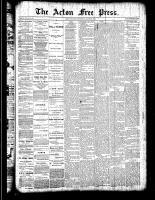 Acton Free Press (Acton, ON), March 29, 1888