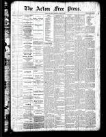 Acton Free Press (Acton, ON), April 5, 1888