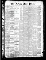 Acton Free Press (Acton, ON), April 19, 1888