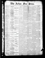 Acton Free Press (Acton, ON), May 3, 1888