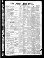 Acton Free Press (Acton, ON), May 31, 1888