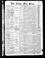 Acton Free Press (Acton, ON), June 7, 1888