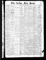 Acton Free Press (Acton, ON), June 21, 1888