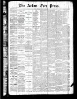 Acton Free Press (Acton, ON), July 5, 1888