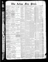 Acton Free Press (Acton, ON)25 Oct 1888