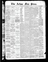 Acton Free Press (Acton, ON)21 Feb 1889