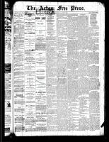 Acton Free Press (Acton, ON), June 27, 1889