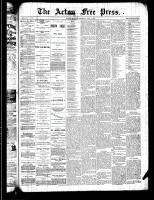 Acton Free Press (Acton, ON), July 4, 1889