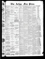 Acton Free Press (Acton, ON), October 3, 1889