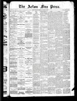 Acton Free Press (Acton, ON), October 10, 1889