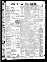 Acton Free Press (Acton, ON), October 17, 1889