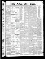Acton Free Press (Acton, ON), October 24, 1889