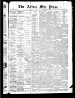 Acton Free Press (Acton, ON)5 Dec 1889