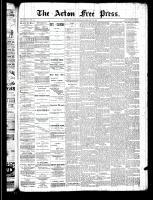 Acton Free Press (Acton, ON), February 20, 1890