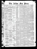 Acton Free Press (Acton, ON), March 27, 1890