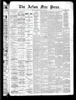 Acton Free Press (Acton, ON), April 3, 1890
