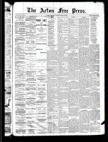 Acton Free Press (Acton, ON), April 24, 1890