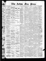 Acton Free Press (Acton, ON), May 1, 1890