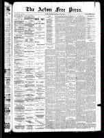Acton Free Press (Acton, ON), May 8, 1890