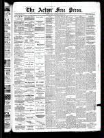 Acton Free Press (Acton, ON), May 15, 1890
