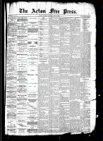 Acton Free Press (Acton, ON)31 Jul 1890