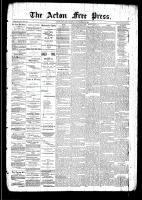 Acton Free Press (Acton, ON), September 18, 1890