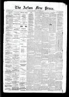 Acton Free Press (Acton, ON), September 25, 1890