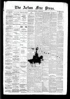 Acton Free Press (Acton, ON), October 2, 1890