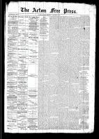 Acton Free Press (Acton, ON), December 4, 1890