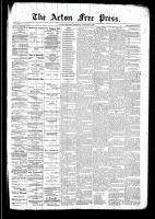 Acton Free Press (Acton, ON), December 18, 1890