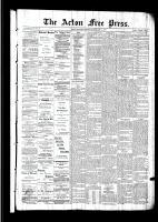 Acton Free Press (Acton, ON), February 11, 1892