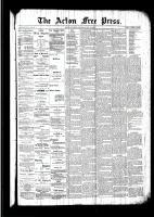 Acton Free Press (Acton, ON)19 May 1892