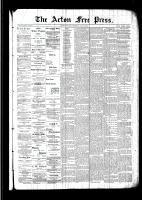 Acton Free Press (Acton, ON), June 2, 1892
