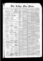 Acton Free Press (Acton, ON), July 14, 1892