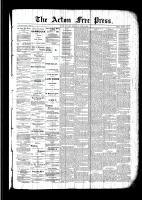 Acton Free Press (Acton, ON), July 21, 1892