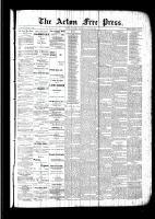 Acton Free Press (Acton, ON), July 28, 1892