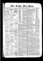 Acton Free Press (Acton, ON), August 11, 1892