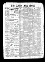 Acton Free Press (Acton, ON), September 15, 1892