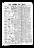 Acton Free Press (Acton, ON), October 27, 1892