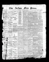Acton Free Press (Acton, ON), July 6, 1893