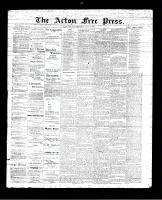 Acton Free Press (Acton, ON), July 20, 1893
