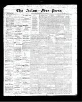 Acton Free Press (Acton, ON), July 27, 1893